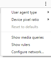Device Mode has some additional settings.