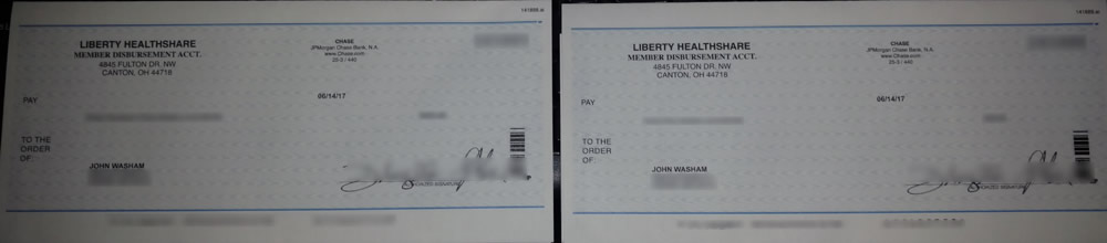 Liberty HealthShare reimbursed our eligible medical expenses.